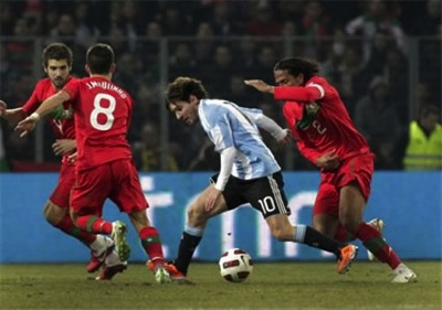 Messi dribble argentina