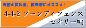 4-4-2ゾーンディフェンスセオリー編